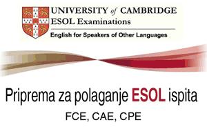 Priprema za ESOL ispit
